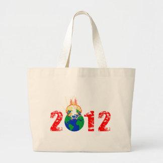World Exploding in 2012 Jumbo Tote Bag