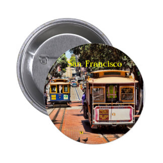 World Famous Cable Cars Pin