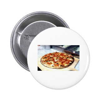 WORLD FAMOUS NEW YORK PIZZA 6 CM ROUND BADGE