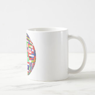 WORLD FLAGS COFFEE MUGS