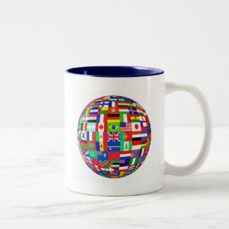 WORLD FLAGS MUG