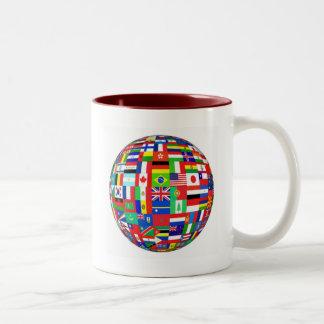 WORLD FLAGS Two-Tone MUG