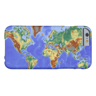World Geographic International Map Barely There iPhone 6 Case