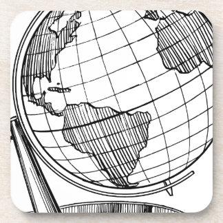 World Globe Coaster