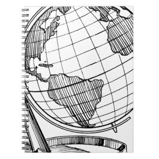 World Globe Notebook
