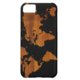 world graphic map iPhone 5C case