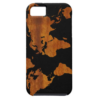 world graphic map iPhone 5 cases