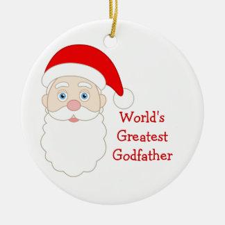 World Greatest Godfather Ornament