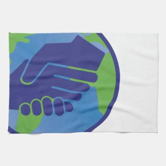World Handshake Hand Towels