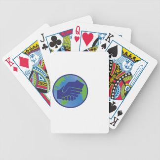 World Handshake Poker Deck