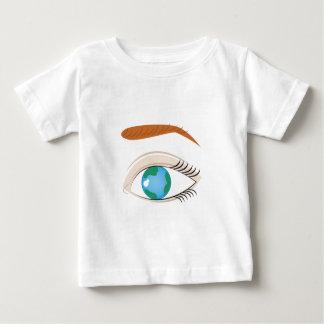 World In Eye Baby T-Shirt