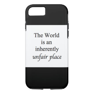 World is an inherent place iPhone 7 case