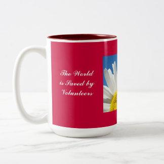 World is Saved by Volunteers Coffee mug gifts