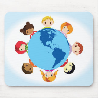 world kids mouse pad