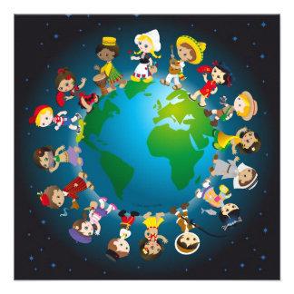World kidz custom invitation