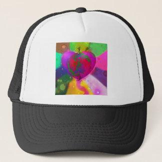 World likes diversity trucker hat