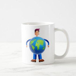 World Man Coffee Mug
