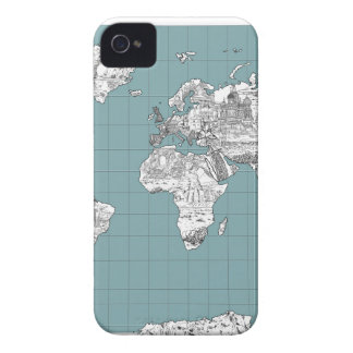world map 10 Case-Mate iPhone 4 cases