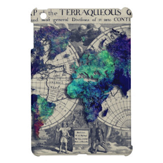 world map 15 cover for the iPad mini