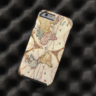World Map 1680 Tough iPhone 6 Case