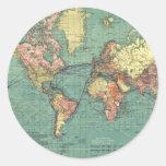 World map 1919 sticker