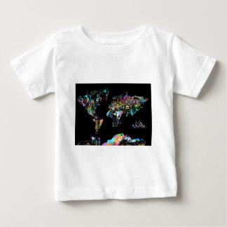 world map 2 baby T-Shirt