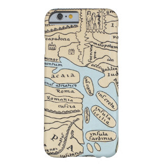 WORLD MAP 2ND CENTURY BARELY THERE iPhone 6 CASE