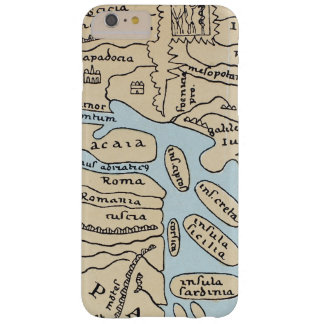 WORLD MAP 2ND CENTURY BARELY THERE iPhone 6 PLUS CASE
