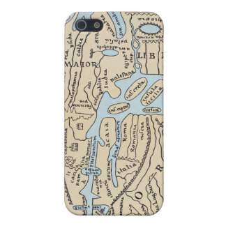 WORLD MAP 2ND CENTURY iPhone 5 COVERS