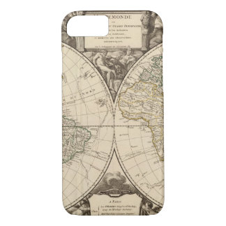 World Map 9 iPhone 7 Case