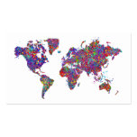 World Map, Action Painting