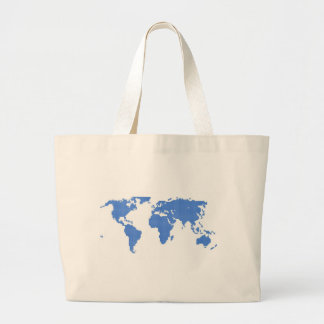 World Map Bags