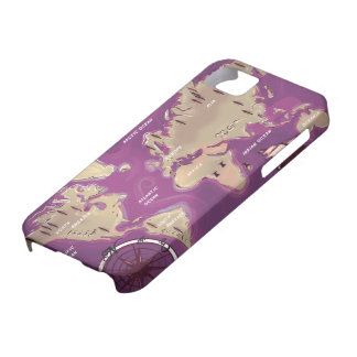 World Map Barely There iPhone 5 Case