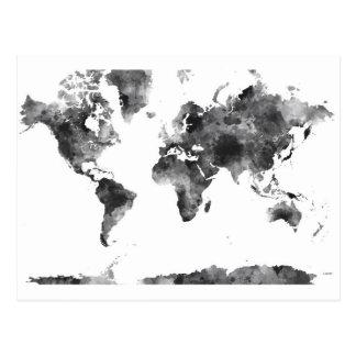 WORLD MAP BG3 - POSTCARD