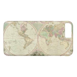 World Map by Carington Bowles (circa 1780) iPhone 8 Plus/7 Plus Case