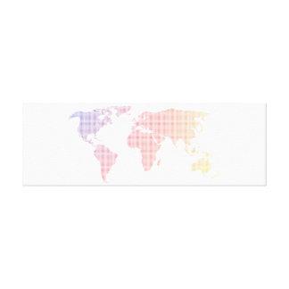 World Map! Canvas Print