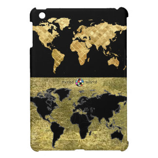 world map - cool planispheres iPad mini cover