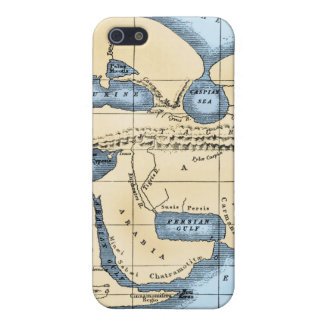 WORLD MAP: ERATOSTHENES iPhone 5/5S COVERS