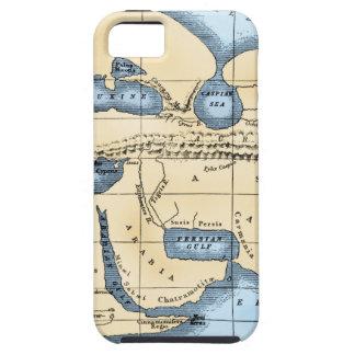 WORLD MAP: ERATOSTHENES iPhone 5 CASE