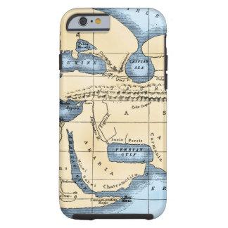 WORLD MAP: ERATOSTHENES TOUGH iPhone 6 CASE