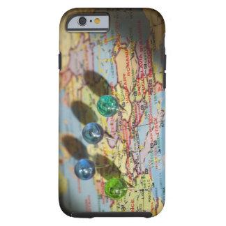 World Map, Europe Tough iPhone 6 Case