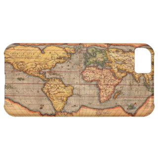 World map from 1601 iPhone 5C case