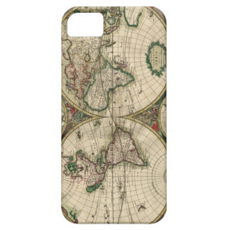 World Map from 1689 Case For The iPhone 5