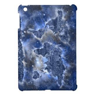 world map galaxy blue 3 iPad mini covers