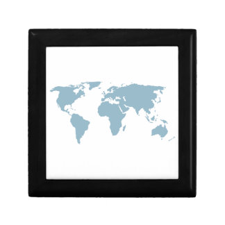 World Map Gift Box
