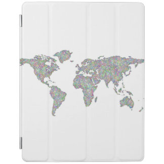 World map iPad cover