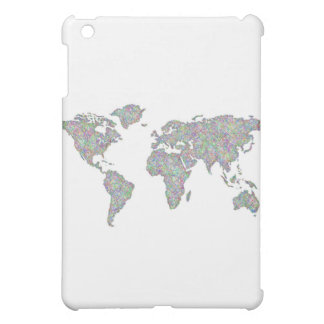 World map iPad mini covers