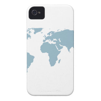 World Map iPhone 4 Case-Mate Case