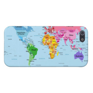 World Map iPhone 5/5S Cover