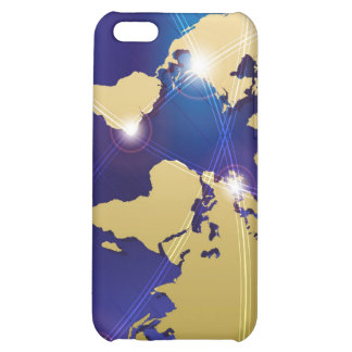 World Map iPhone 5C Case